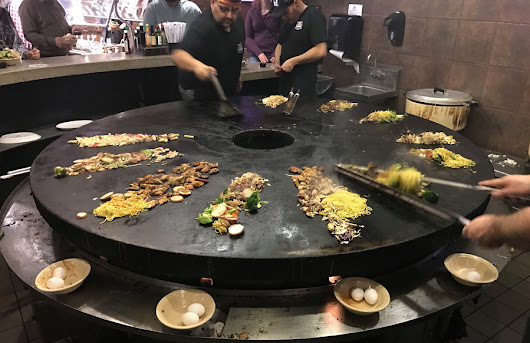 A Tropical Dinner at bd's Mongolian Grill from GoFatherhood®