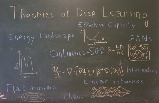 Recent Advances for a Better Understanding of Deep Learning