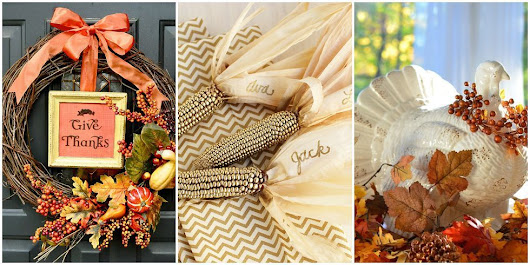26 Thanksgiving Decorations to Celebrate the Season