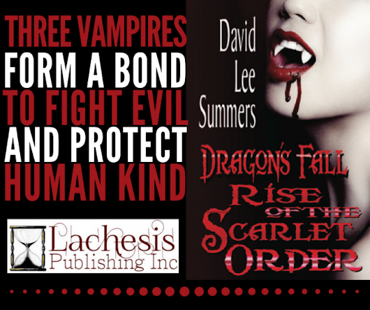 Book of the Week: Dragon's Fall – Rise of the Scarlet Order by David Lee Summers #amreading #paranormal #horror