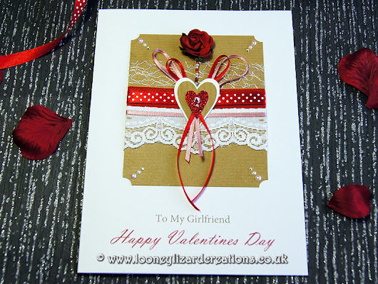 Romancing - Luxury Valentines Card