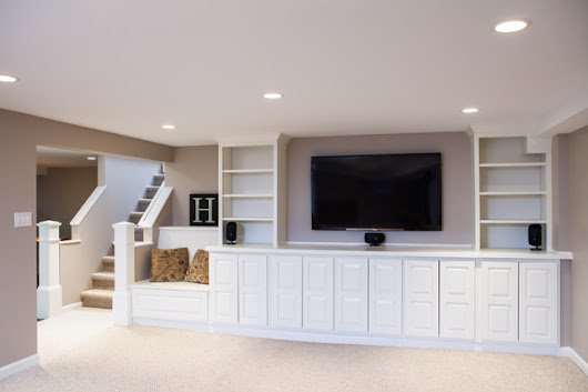 Libertyville Basement - Craftsman - Basement - chicago - by BDS Construction Inc