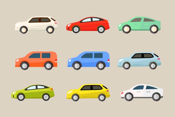 車のイラスト素材 街建物系イラスト専門サイトtown Illust