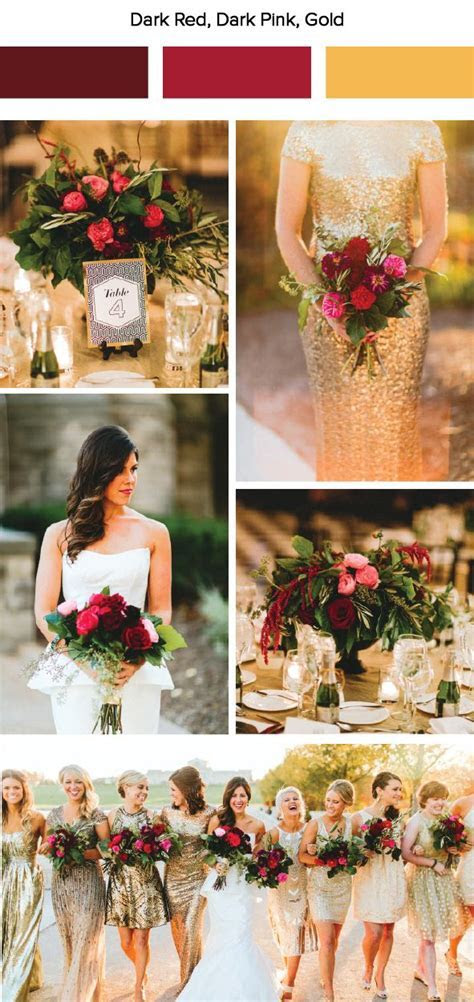 7 Fall Wedding Color Palette Ideas   Wedding Color