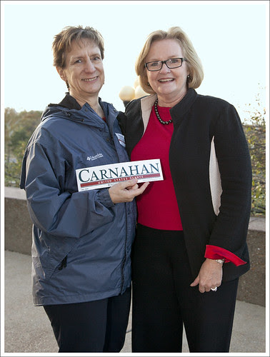 Carolyn and Senator McCaskill