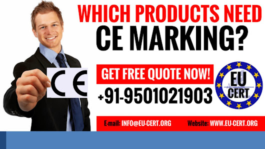 Which products that need ce marking certification