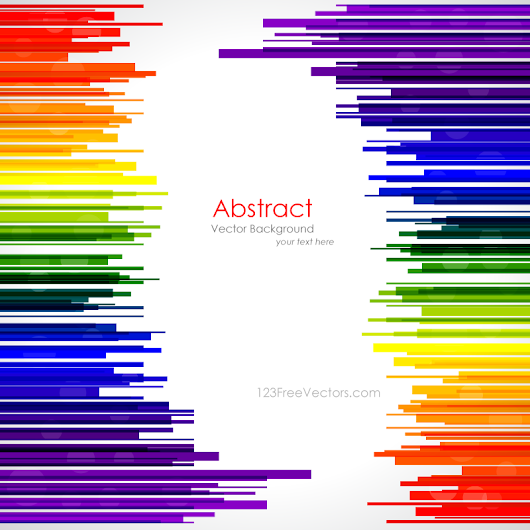 Abstract Rainbow Stripes Background Template – Free Vector Graphics Download | Free Vector Clip Art Packs | Free-Vectors.com