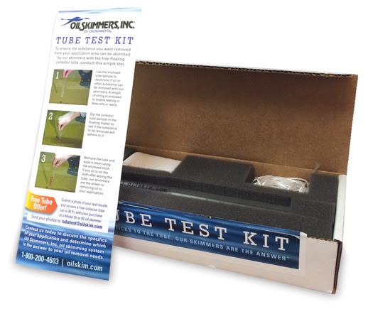 Free-Floating Collector Tube Test Kit