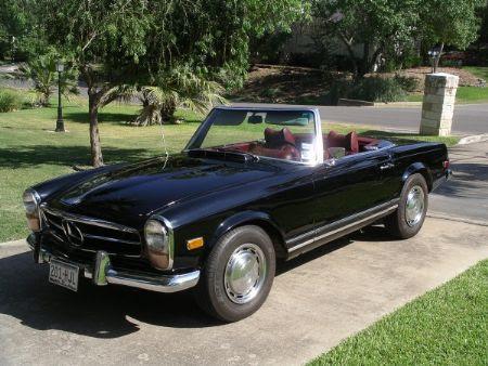 1969 Mercedes 280SL For Sale Dallas, Texas