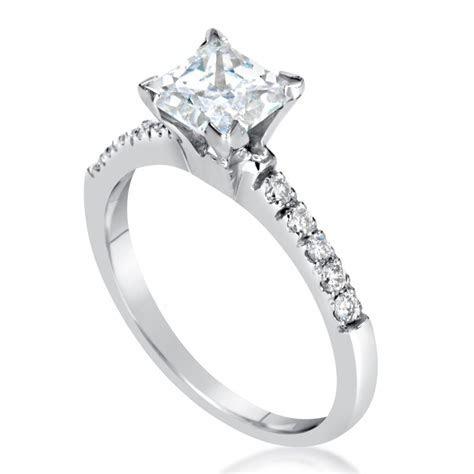 2 Carat Princess Cut Diamond Engagement Ring   Ara Diamonds