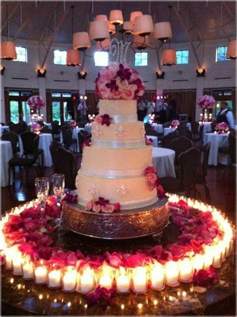 48 best images about wedding cake table decorations on