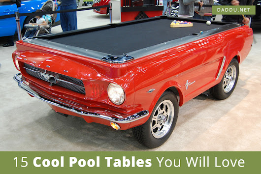 15 Cool Pool Tables You Will Love