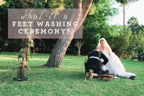 Feet Washing Ceremony
