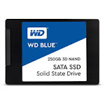 "WDS250G2B0A - Western Digital 250GB Blue 3D NAND SATA III 2.5"" Internal SSD"