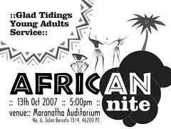 20071013 African Nite