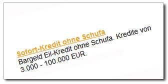 Eil Kredit ohne Schufa  Das MeinungsBlog