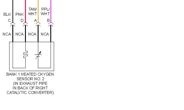 Schematics And Diagrams  Post Converter Rear Oxygen Sensor