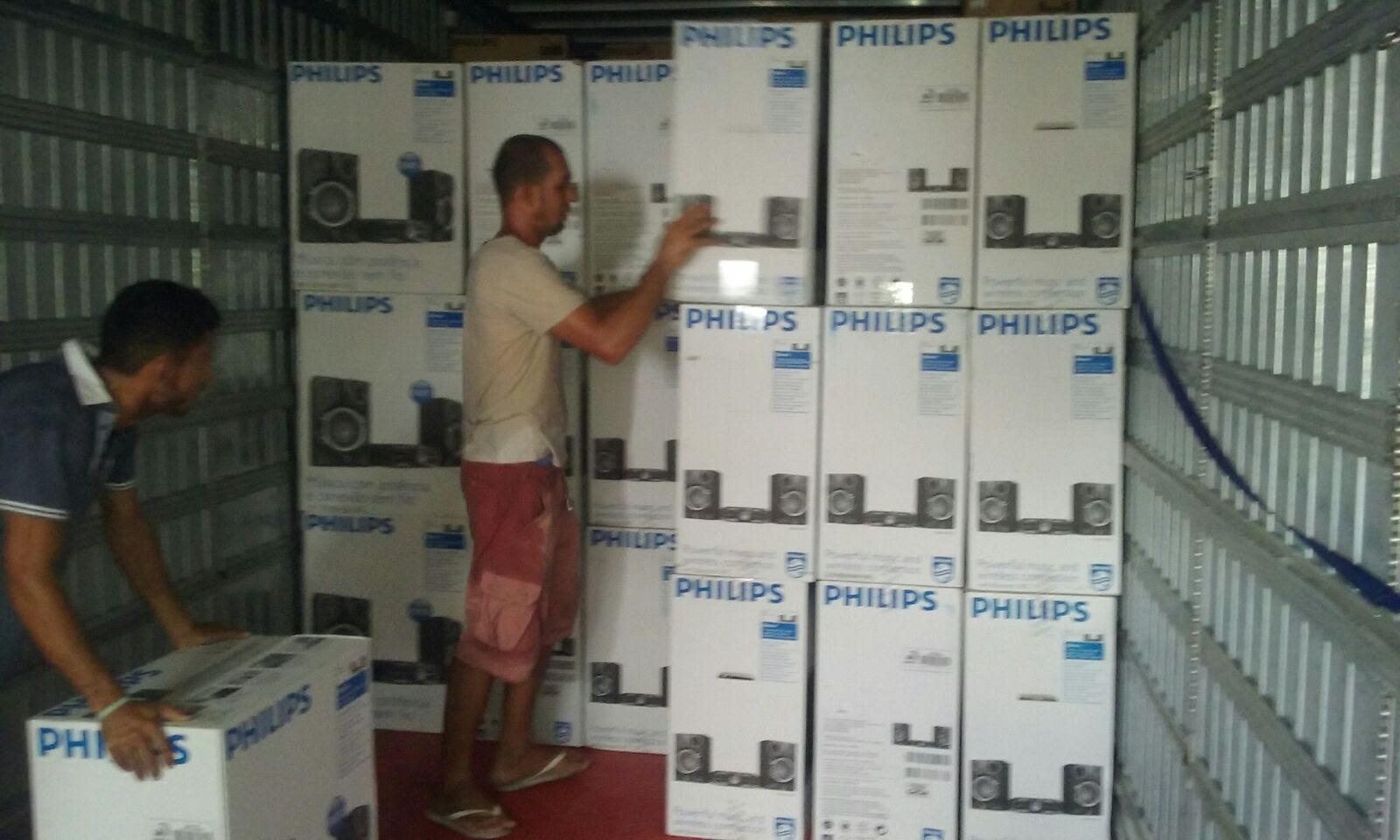Polícia recupera carga de eletroeletrônicos avaliada em meio milhão de reais