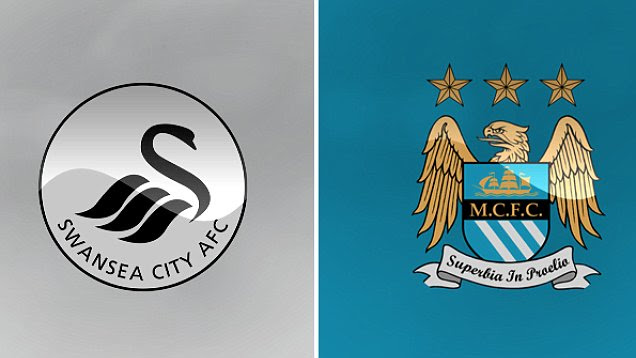 Image result for SWANSEA VS MANCHESTER CITY