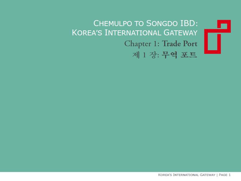 Chemulpo to Songdo IBD