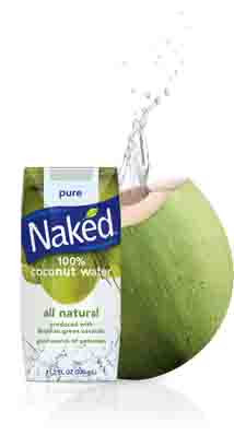 Amazon.com : Naked 100% Organic Pure Coconut Water, 11.2