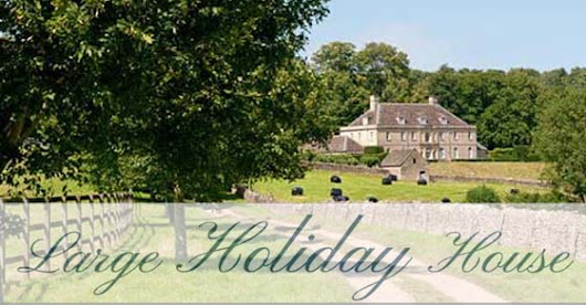 Large holiday houses - self catering group accommodation to rent in UK