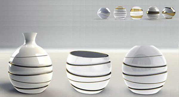 Eva Vase by Iron Retting, Functional and Decorative Accessories ...