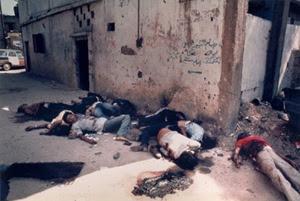 Massacro di palestinesi nel campo di Chatila