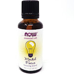 Mental Focus Oil Blend by Now Foods - 1 Fluid Ounce