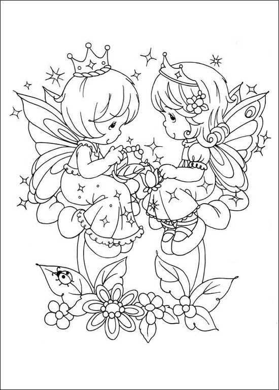 Free Printable Precious Moments Coloring Pages For Kids | 770x550