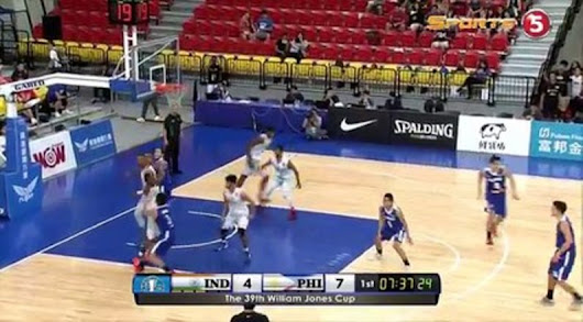 2017 William Jones Cup: Gilas VS India July 22 2017 — Pinay TV | Pinoy Tambayan Watch Pinoy TV Shows Online