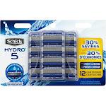 Schick Hydro 5 Men's Refill Razor Blades - 12 count