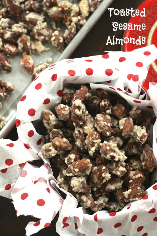 Toasted Sesame Almonds & Reindeer Recipe #3! - Brittany's Pantry