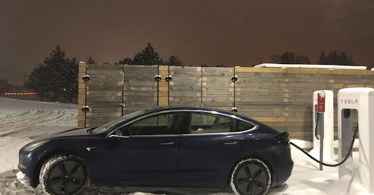 Tesla Model 3 driven from LA to New York in 50 hours