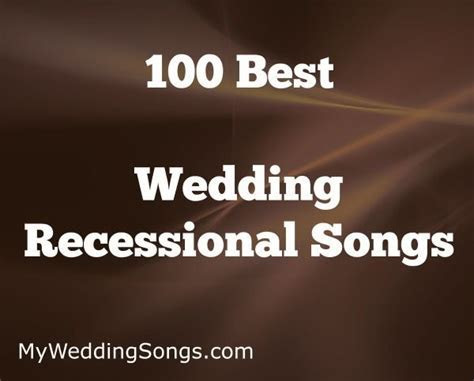 17 Best ideas about Wedding Recessional on Pinterest