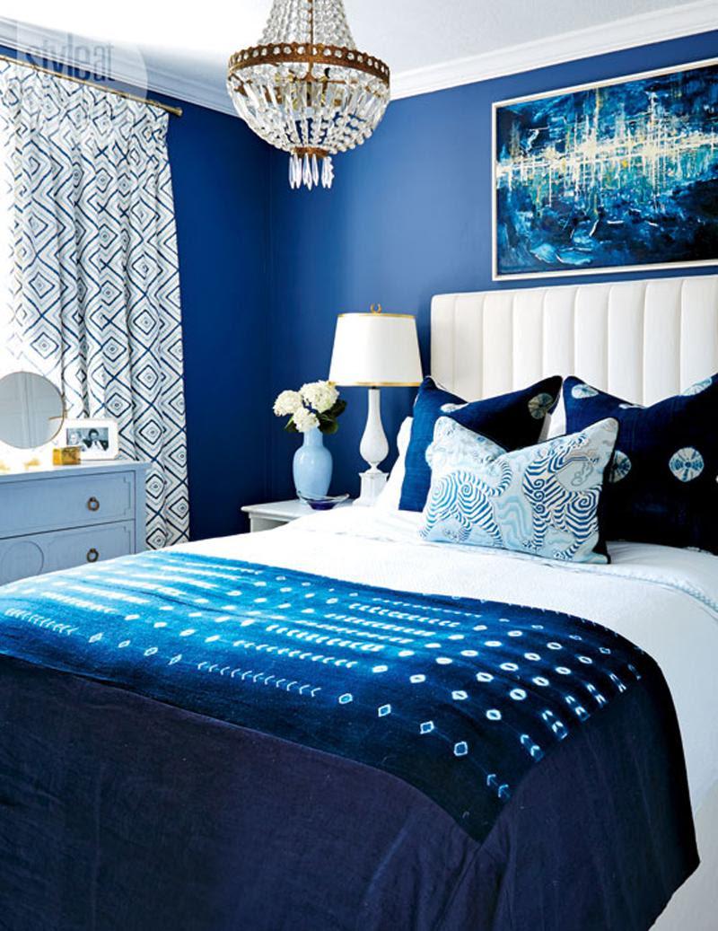 15 Stylish Blue Bedroom Design Ideas - Decoration Love