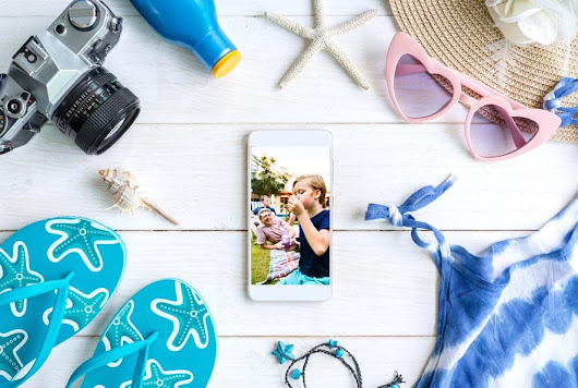 How full is your phone camera? Time for a photo backup so you never miss a summer moment