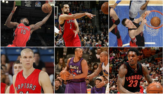 Raptors Face Decisions With Six Pending Free Agents