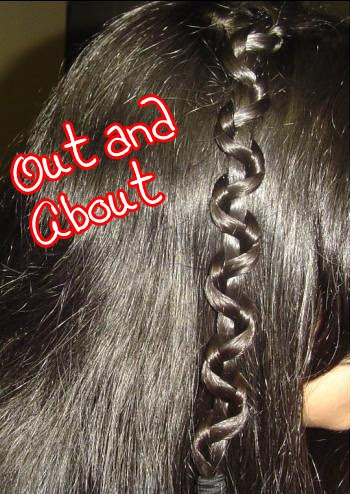 An Indian's Makeup Blog!: One Simple Hair Style, Done Four ...