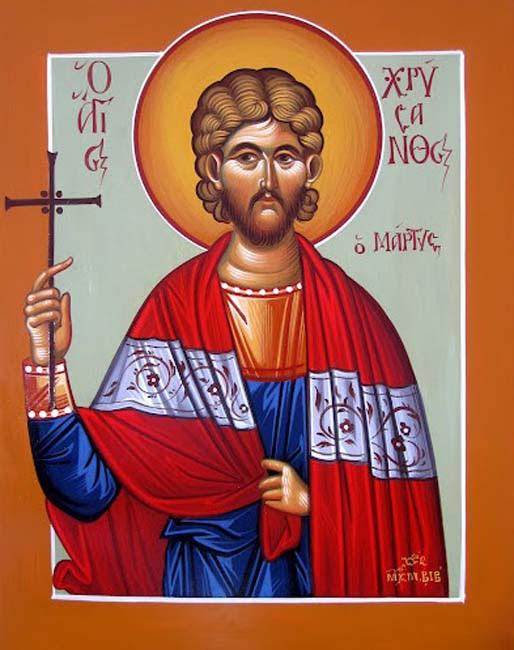img ST. CHRYSANTHUS, Martyr