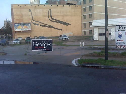 John Georges sign