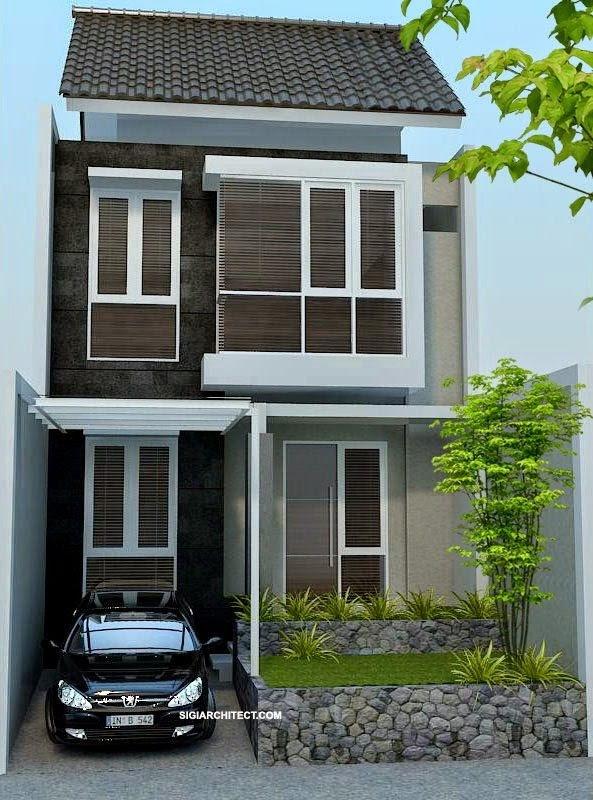 Gambar Denah Rumah Minimalis 2 Lantai | Ide Rumah Minimalis