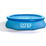 Intex Easy Set 10ft x 30in Above Ground Inflatable Round Swimming Pool for Kids by VM Express