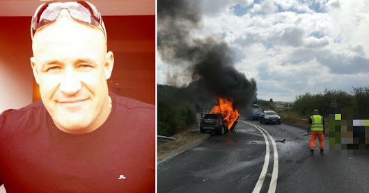 Hero lorry driver recalls moment he saved father and daughter
