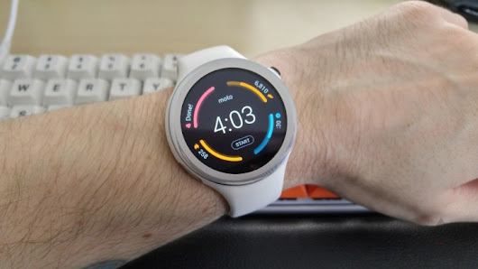 Motorola appears poised to finally update the Moto 360 Sport to Android Wear 2.0