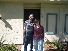 Mike & Cherie & their new home