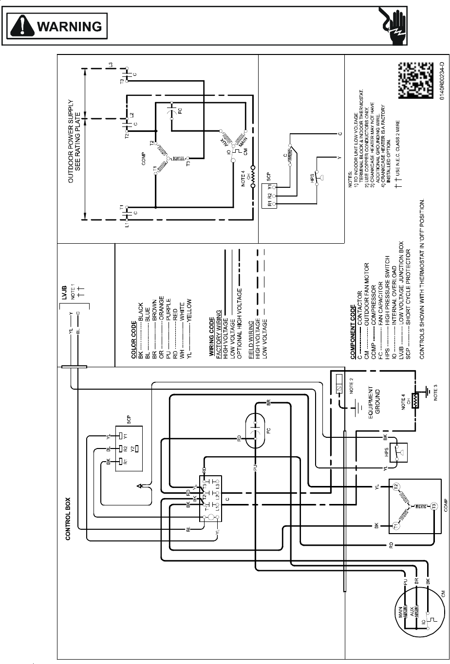 31 Goodman Package Unit Wiring Diagram