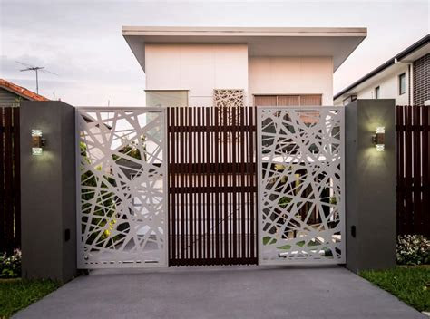 stunning modern main gate design  home decoration