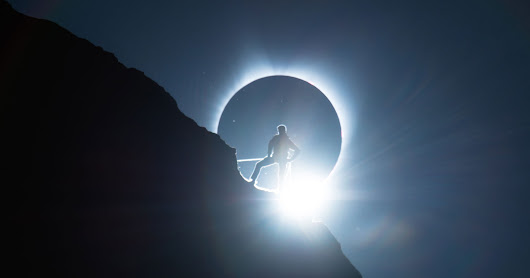 How It Was Shot: A Climber and a Total Solar Eclipse