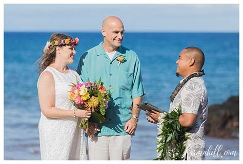 Prepared for the Future ~ Roxanne & Jon's Maui Beach Elopement